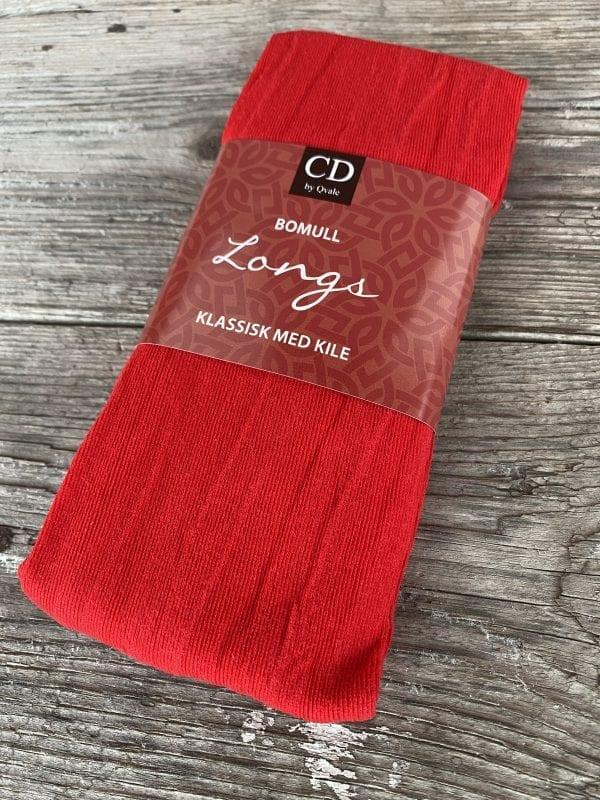 Rød strømpebukse (Rød til Trønderbunad)