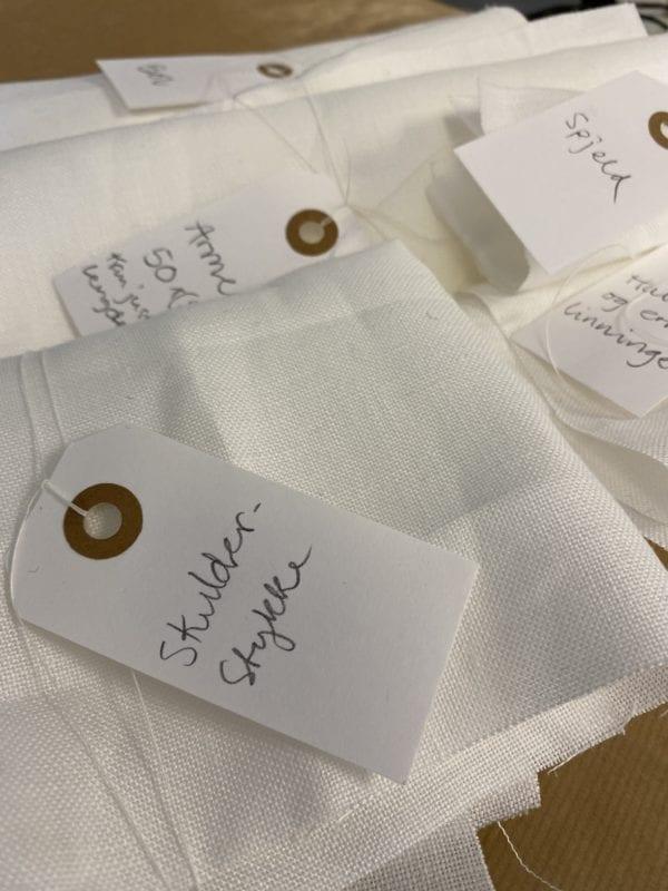Matrialpakke Kvebergskjorte
