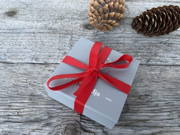 Bunadssølv i gaveeske - jul