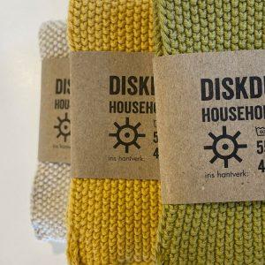 Kjøkkenkluter - 3 ulike farger