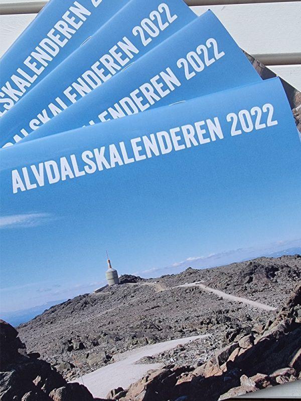 Forside av Alvdalskalenderen 2022