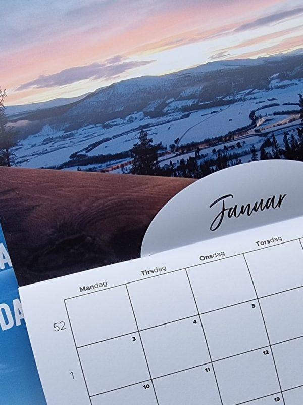 Kalender fra Januar 2022